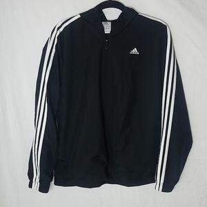 Adidas Black Hooded Jacket